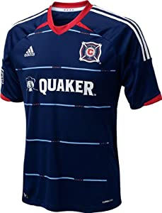 Chicago Fire Navy Adidas Replica Away Jersey by adidas