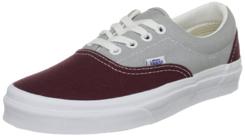 Vans Unisex-Adult Era Canvas (Gold Coast) Vineyard Wine/High Rise Trainer VNKO5IQ 10 UK
