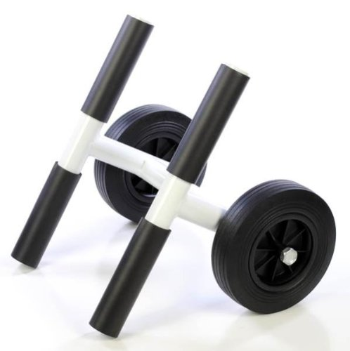 Kayak Dolly Cart Solid Rubber Wheel