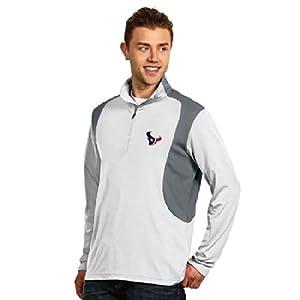 Houston Texans Delta Pullover (White) by Antigua