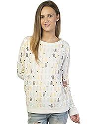 Bonhomie Women Sweatshirts [BONSW24_Beige_Medium]