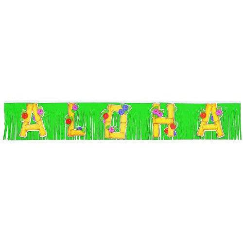 Aloha Fringed Banner