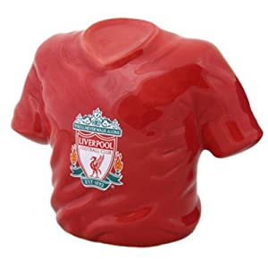 Liverpool Fc Money Box - Shirt - Football Gifts