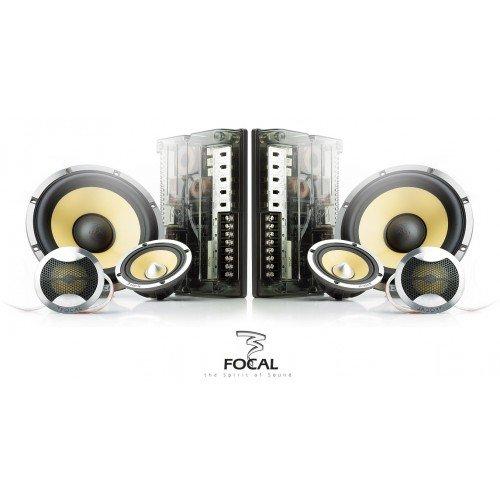 Focal k2power 165KRX3Compo 3voies 16,5cm Focal 165KRX3