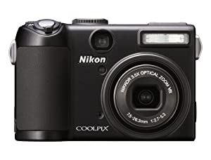Nikon Coolpix P5100 12.1MP Digital Camera with 3.5x Optical Vibration Reduction Zoom