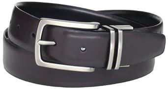 Dockers Men's Reversible Belt, Black/Brown, 34