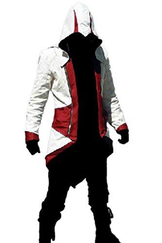 VOGDORA Men's Costume Coat Cosplay Jacket Costume Hoodie Jacket