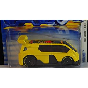 Hot Wheels 2002 First Editions Yellow Hyperliner Die Cast Car 014 1:64 Scale