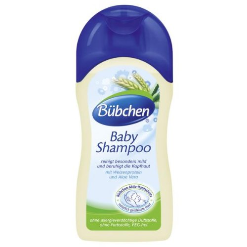 Buebchen Baby Shampoo with wheat protein and camomile 200 ML - 1