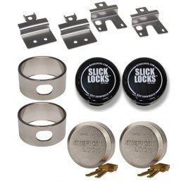 Slick Locks Ford Swing Door Kit Complete With Spinners, Weather Covers And Locks