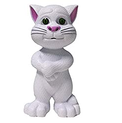 Sunshine Talking Cat with Stories and Songs, Touch Functions (White)