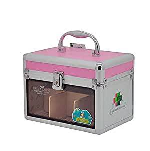 Useful Family Medicine Chest Portable Locker Metal Medicine Cabinet Pink 5 9 39 39 Home