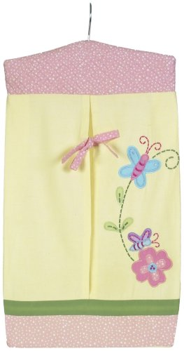 Sumersault Charlotte Diaper Stacker, Yellow - 1