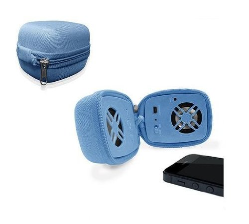 Urge Basics Travel Bluetooth Speaker With Built In Microphone (Blue)