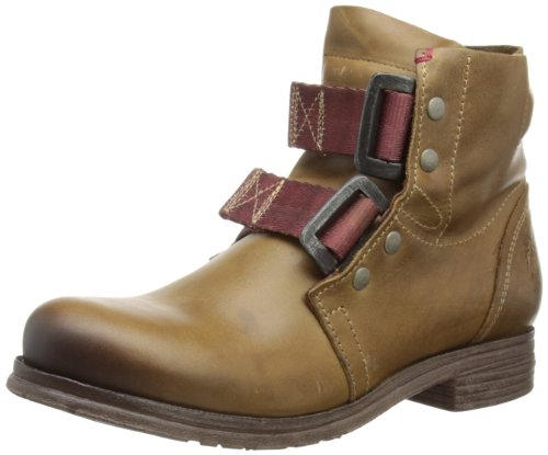 Fly London Womens Ska Camel Biker Boots P142122010 3 UK, 36 EU