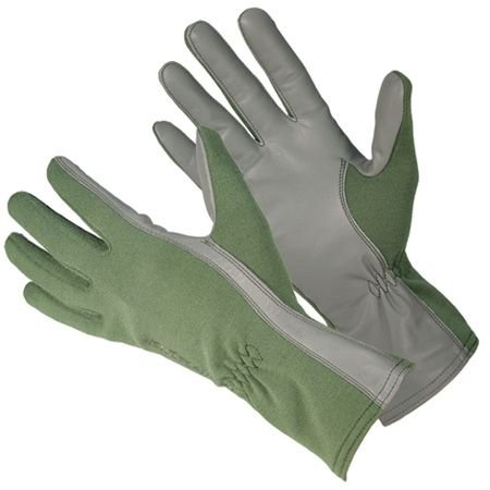 Blackhawk! Aviator Fire - Resistant Flight Ops Gloves with Nomex, OLIVE DRAB, SM