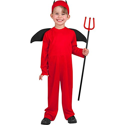 Child's Toddler Little Red Devil Halloween Costume (3-4T)