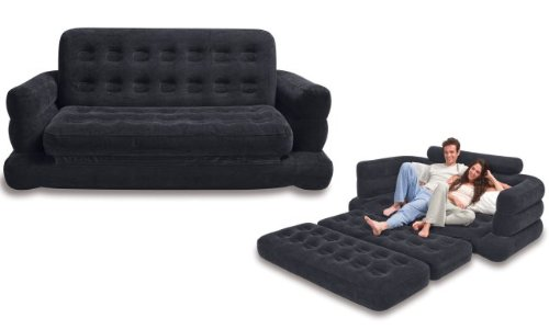 intex air mattress with built in pump instructions