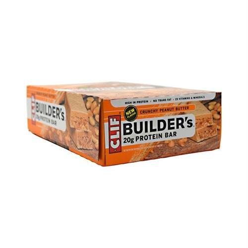 Clif Bar - Builder'S Protein Crisp Bar Crunchy Peanut Butter - 2.4 Oz.
