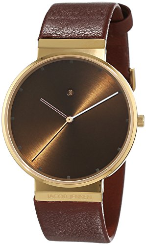 jacob-jensen-dimension-series-item-no-844-montre-homme-quartz-analogique-bracelet-cuir-marron