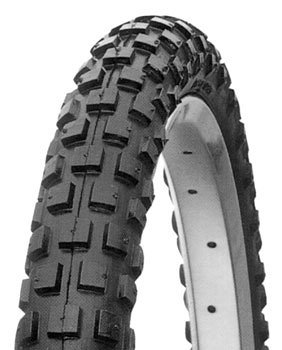 Cheng Shin C183 Knobby Bicycle Tire (Wire Bead, 20 x 2.125, Black Wall)