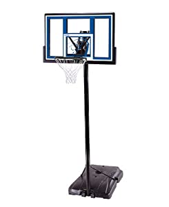 "Lifetime 1531 Complete Portable Basketball System, 48"" Shatter Guard Backboard"