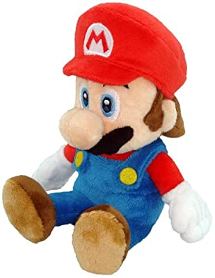 "Little Buddy Toys Nintendo Official Super Mario Plush, 8"" by Japan VideoGames"