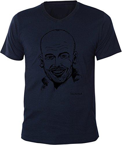 mister-merchandise-homme-v-neck-t-shirt-pep-josep-guardiola-men-chemise-taille-xxl-couleur-navy