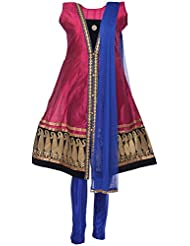 Ethnic Colors Women's Cotton Silk Salwar Suit Set - B019Z5SHFA