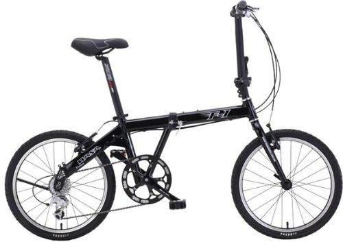 HASA Folding foldable Bike Shimano 9 Speed Black
