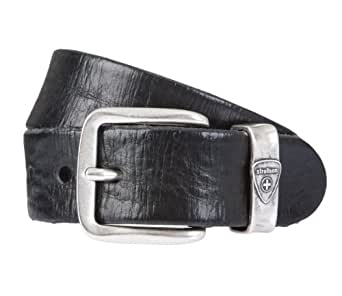 STRELLSON herrengürtel ceinture cuir noir -  Noir - 100