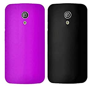 Winsome Deal 2 Pieces of Exclusive Quality Hard Back Cover Case For Motorola Moto G