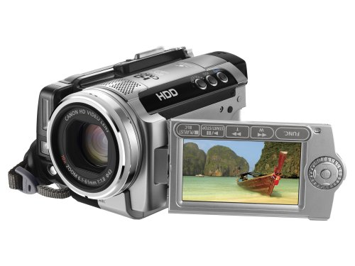 Canon HG10 Ultra-Compact High Definition HDD Camcorder (10x Optical Zoom, 2.7