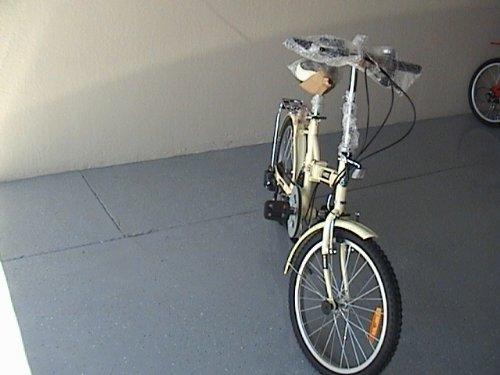 Folding Bike 20 Inchces Color SILVER