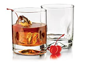 Libbey 12-Ounce 4-Pc Impressions Double Old Fashioned Glasses, Clear at Sears.com