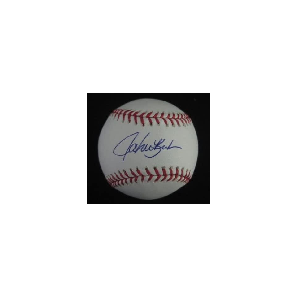 John Kruk Signed Baseball OML Phillies Steiner   Autographed Baseballs