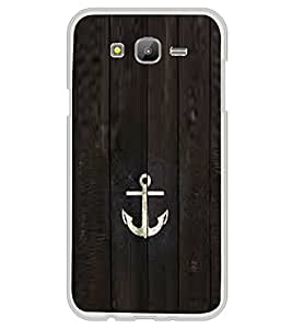 Anchor 2D Hard Polycarbonate Designer Back Case Cover for Samsung Galaxy E7 (2015) :: Samsung Galaxy E7 Duos :: Samsung Galaxy E7 E7000 E7009 E700F E700F/DS E700H E700H/DD E700H/DS E700M E700M/DS