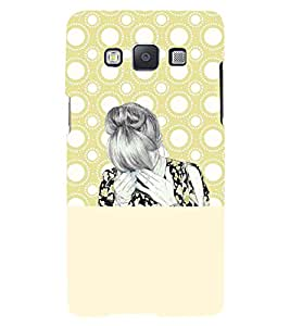 PRINTSWAG GIRL Designer Back Cover Case for SAMSUNG GALAXY A5