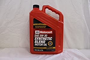 Genuine Ford Fluid SAE 5W-30 Premium Synthetic Blend Motor Oil by Ford
