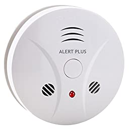 Alert Plus Advanced Battery-operated Combination Carbon Monoxide and Smoke Alarm Detector