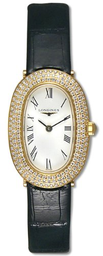 Longines Prestige 18kt Gold Diamond Womens Watch L4.225.7.11.2