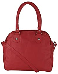 Mukul Collection Women's Shoulder Handbags Pink (mc-hb-005)