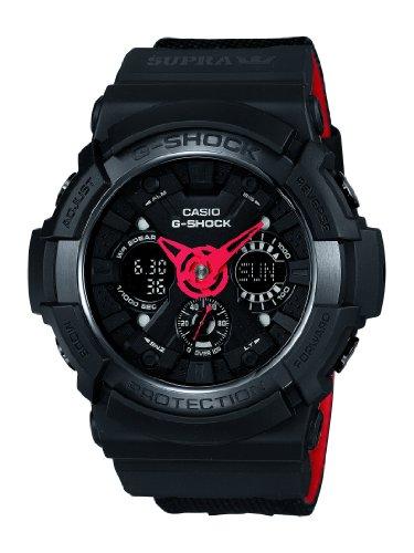 [カシオ]CASIO 腕時計 G-SHOCK 30th Anniversary Collaboration Series G-SHOCK × SUPRA コラボレーションモデル 【数量限定】 GA-200SPR-1AJR メンズ