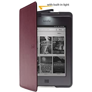 Kindle Touch Lighted Leather Cover