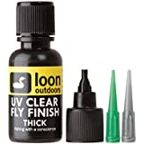 Loon Outdoors UV Clear Finish Fly Tying Fishing Build Fly Heads and Bodies