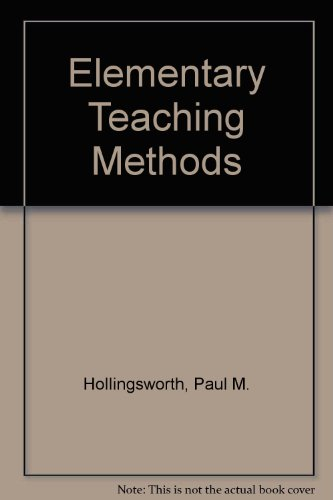 Elementary Teaching Methods
