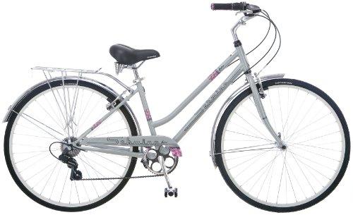 Schwinn Women's Wayfarer 7 Speed Bicycle (Silver)