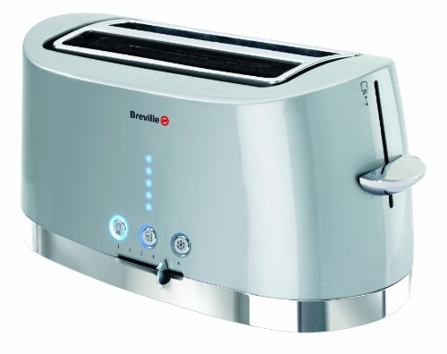 Breville PT47 Silver and Stainless Steel 4 Slice Toaster from Breville