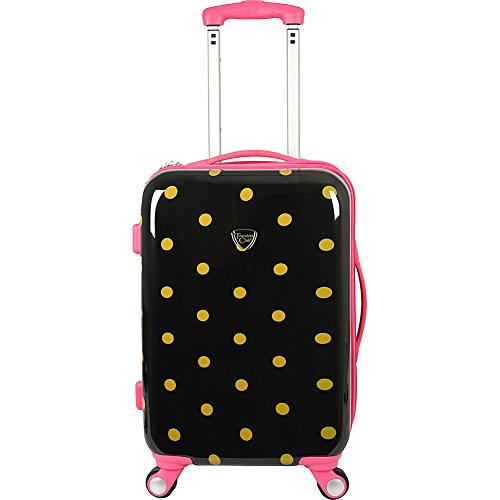 travelers-club-luggage-modern-20-inch-polka-dot-expandable-carry-on-spinner-polka-dot-one-size