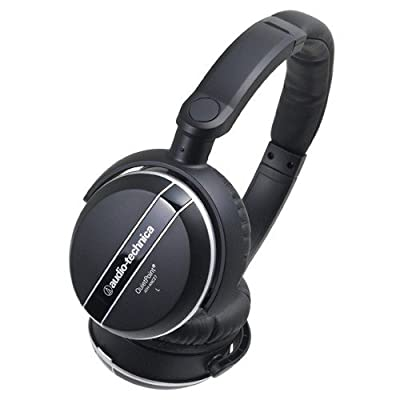 AUDIO TECHNICA ATH-ANC27 Noise-Canceling Headphones - Manufacturer Refurbished